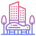 apartment, building, condominium, hotel