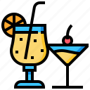 beverage, drink, juice, orange, water icon