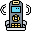 landline, office, phone, room, service icon