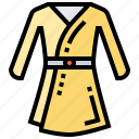 bath, clothing, dress, hygiene, robe icon