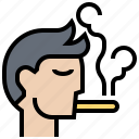 area, forbidden, sign, smoking, warning icon