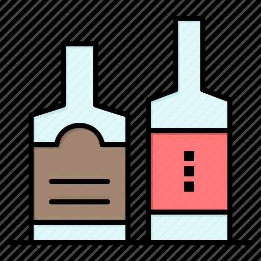 alcohol, beverage, bottl, bottles icon