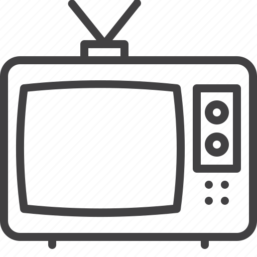 broadcast, cable, television, tv, video icon