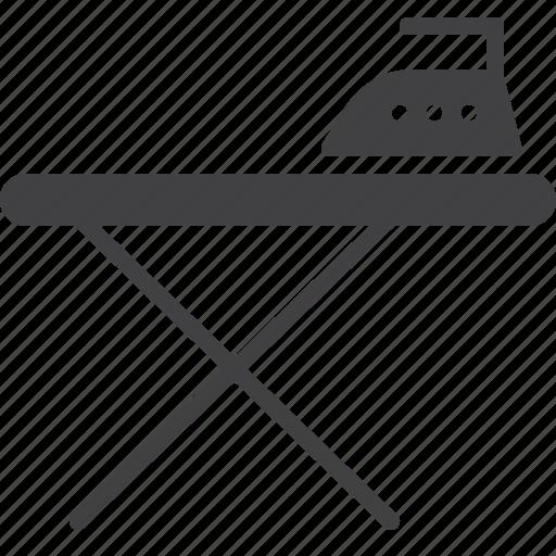 board, iron, ironing icon