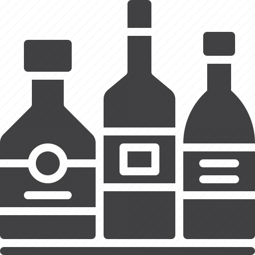 alcohol, bar, beverage, bottles icon