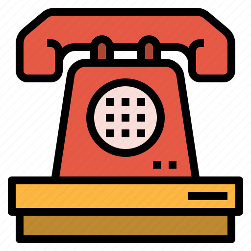 cell, hotel, information, phone, reception, service, telephone icon