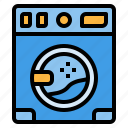 clean, laundry, machin, wash, washing icon