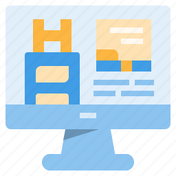 booking, computer, hostel, hotel, online, service, travel icon