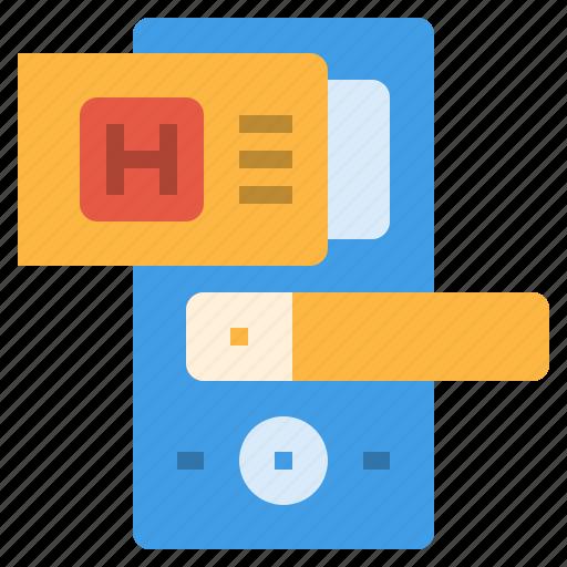 card, digital, door, key, room, security, system icon