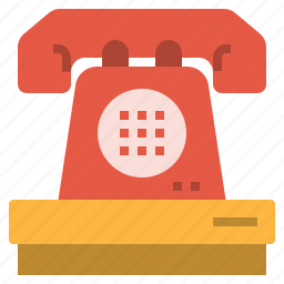 cell, communication, hotel, information, phone, reception, telephone icon