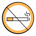 cigarratte, forbibben, nosmokingsign, quit smooking, smoking icon