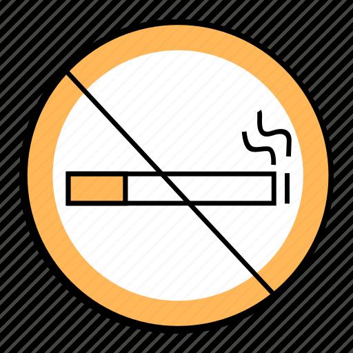 cigarratte, forbibben, nosmokingsign, quit smooking, smoking icon