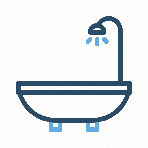 Bath, bathroom, shower, toilet, water icon - Download on Iconfinder