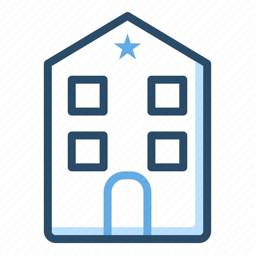 Building, home, hotel, house, service icon - Download on Iconfinder