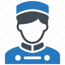 bellboy, bellhop, concierge, hotel, hotel services, waiter icon