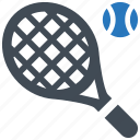 racket, racquet, smash, tennis, tennis ball icon
