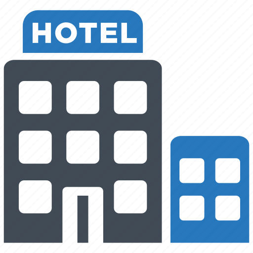 accommodation, building, hotel, motel icon