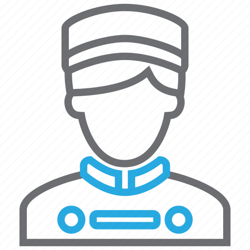 avatar, bellboy, concierge, hotel, man, people, waiter icon