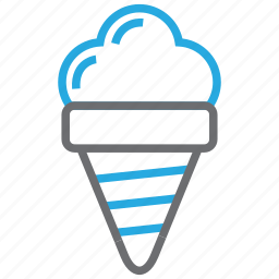 cream, dessert, food, ice, ice cream, kid, sweet icon