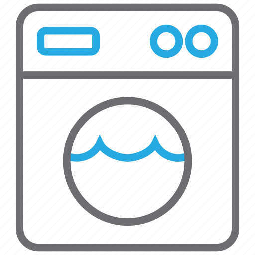 appliance, clean, cleaning, laundry, machine, washer, washing icon