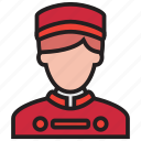 bellboy, hotel, people, waiter icon
