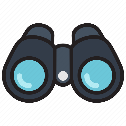 binocular, binoculars, find, search, view icon