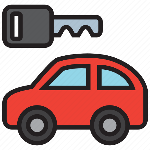 auto, car, rent, rental, transport, vehicle icon