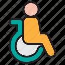 disabled, disable, handicap, wheelchair, disability, patient