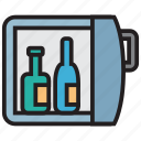 alcohol, bar, bottle, wine icon