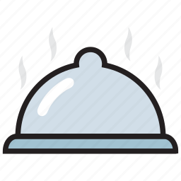 cooking, food, kitchen, mela, platter, restaurant, serving icon