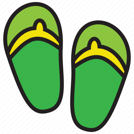 beach, footwear, sandal, sandals, shoes icon
