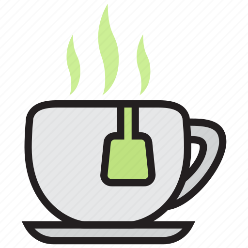cafe, coffee, cup, drink, matcha, tea icon