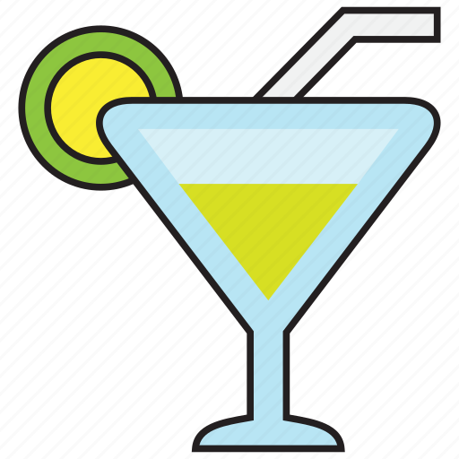 alcohol, beverage, cocktail, drink, glass, lemon, mojito icon