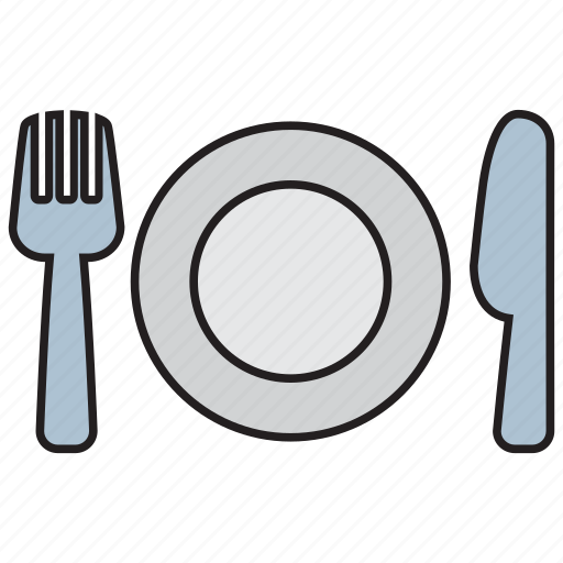 cooking, cutlery, fork, kitchen, knife, spoon, utensil icon