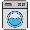 clean, clothes, clothing, fashion, laundry, machine, washing icon