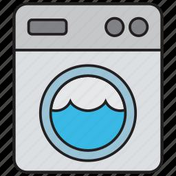clean, clothes, clothing, fashion, laundry, machine, washing icon