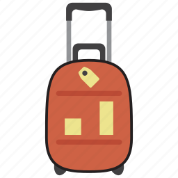 bag, baggage, business, luggage, suitcase, travel, vacation icon
