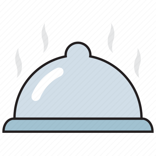 cook, cooking, food, heat, kitchen, platter, serving icon