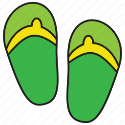 beach, footwear, sandal, sandals, shoes, summer, vacation icon