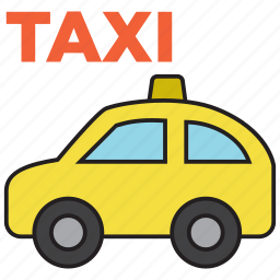 cab, car, taxi, transport, travel, vehicle icon
