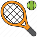 tennis, ball, game, racket, smash, sports