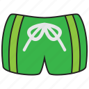 beach, holiday, summer, swimsuit, trunks icon