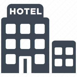 building, holiday, hotel, restaurant, room, service, vacation icon