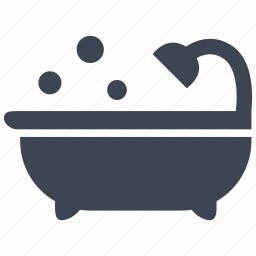 bath, bathroom, drop, hygiene, shower, soap, water icon
