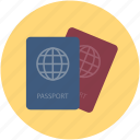 identification, passports, permit, travel id, travel permit, visa