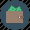 leather wallet, notecas, pocketbook, purse, wallet