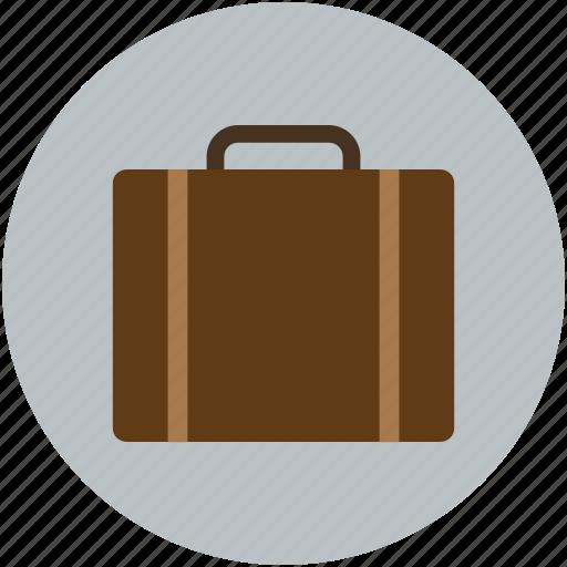 bag, case, luggage, suitcase, travel bag, traveling bag icon