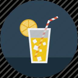 drink, juice, lemonade, refreshing, soft, summer drink icon