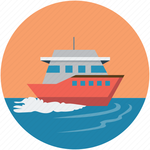 boat, cruise, luxury cruise, luxury ship, ship, travel icon
