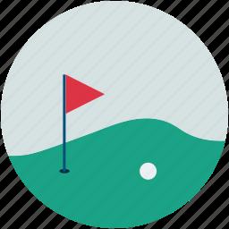 golf, golf club, golf course, sports icon